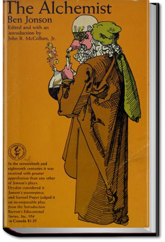 the alchemist ben jonson essays Free ben johnson papers, essays compare and contrast between ben jonson´s the alchemist and volpone - among the jacobean and elizabethan dramatists.