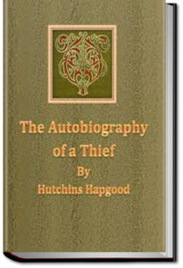 The Autobiography of a Thief by Hutchins Hapgood